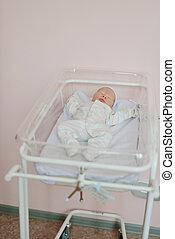 newborn baby in prenatal hospital