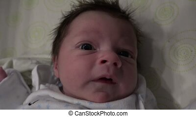 Newborn Baby Sneezing - Watching this cute baby sneezing...