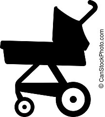 Newborn baby stroller (pram, carriage)