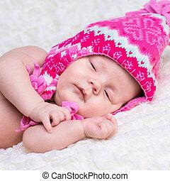 Newborn cute baby