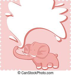 Newborn Welcome Card