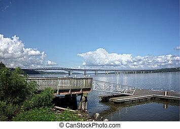 Newburgh-Beacon Bridge on the Hudson