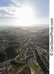 Newbury Park Southern California Aerial