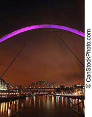 newcastle, puentes