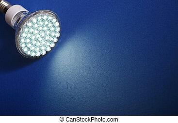 newest, licht, leuchtdiode, zwiebel