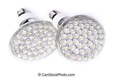 newest, lumière, mené, ampoule