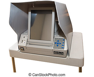 Newest Touch Screen Voting Machine - Brand new 2008 touch...