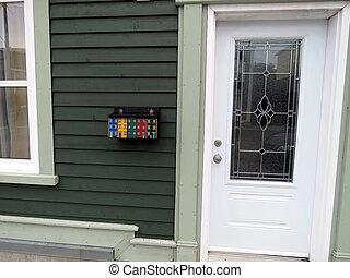Newfoundland St. John's door 2016