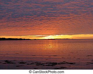Newfoundland the beautiful sunset 2016