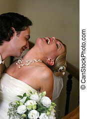Newly married pair - Beautiful newly married pair