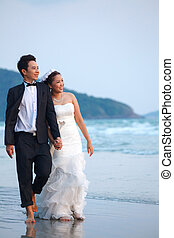 newlywed couples Outdoor