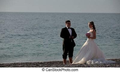Newlyweds at sea
