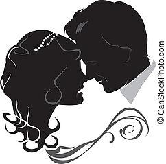 newlyweds., pictogram