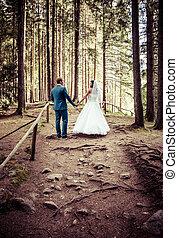 Newlyweds - wedding photo