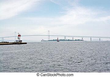 Newport Bay Suspension Bridge