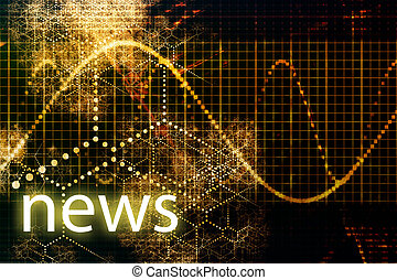 News Abstract Business Concept Wallpaper Presentation...