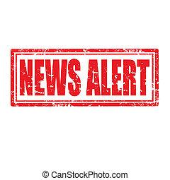 News Alert-stamp