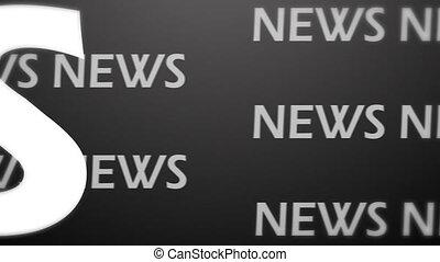 News animation