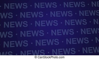 News Background Blue Loop HD