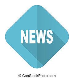 news flat icon