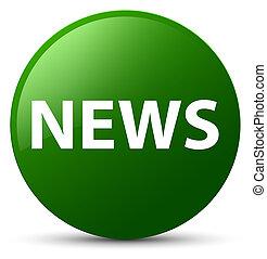 News green round button