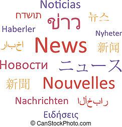 News, languages