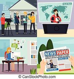 News Orthogonal Concept - News orthogonal design concept...