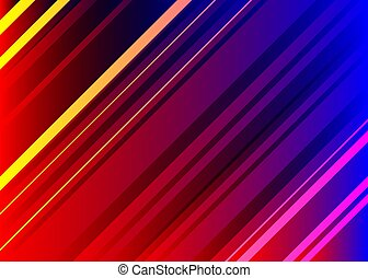 News screensaver, diagonal lines, motion effect, abstract...