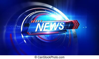 background is perfect for any type of news or information presentation. The background features a stylish and clean layout with subtle movements and animations.