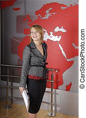 News television presenter