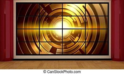 News TV Studio Set- 17 - News TV Studio Set 17 - Virtual ...