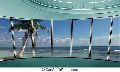 News TV Studio Set 270- Virtual Green Screen Background Loop...
