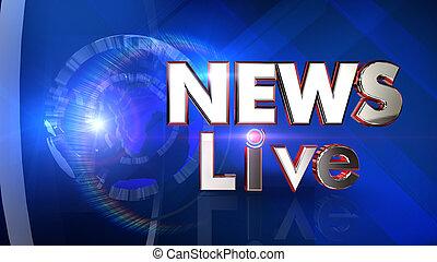 News Virtual studio
