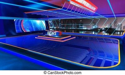 News_Vset1 - Virtual set studio for chroma footage Realize...