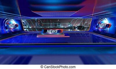 News_Vset3 - Virtual set studio for chroma footage Realize...