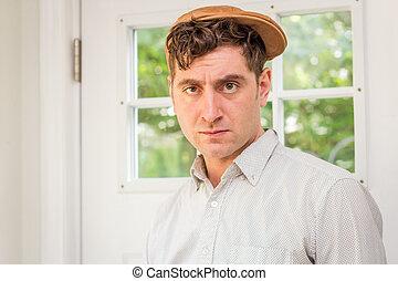 Newsboy Fashion Man