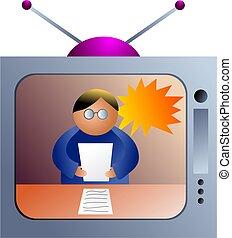 newsflash - icon people
