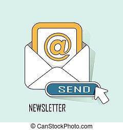newsletter concept
