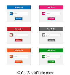 Newsletter forms