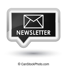 Newsletter prime black banner button