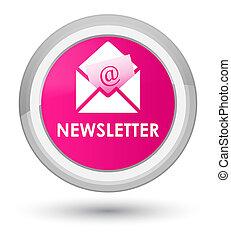 Newsletter prime pink round button