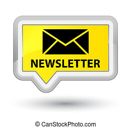 Newsletter prime yellow banner button