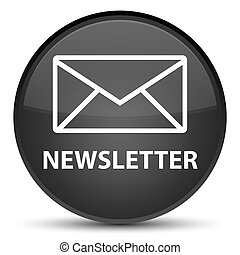 Newsletter special black round button