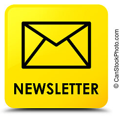 Newsletter yellow square button