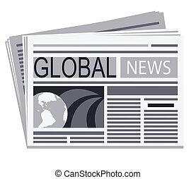 Newspaper of global news