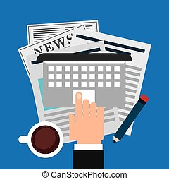 newspaper concept design