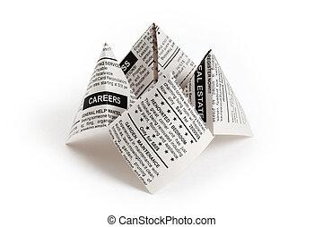 Newspaper Fortune Teller - Fake Newspaper, Fortune Teller ...
