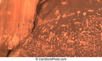 Newspaper Rock, Petoglyphs