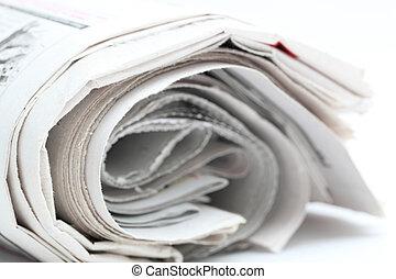 newspaper roll
