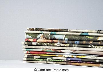 Newspaper - Stack of newspaper